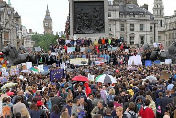 Brexit Protest,Brexit Protest In London 162055