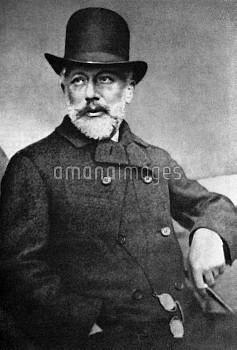 Russian composer Tchaikovsky