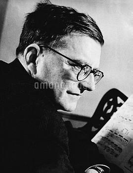 Composer Dmitry Shostakovich