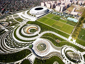 New park in Krasnodar
