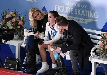 [フィギュアスケート] GPシリーズ第3戦フィンランド大会 アリーナ・ザギトワ