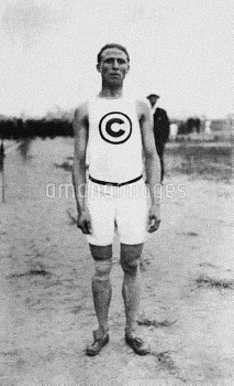 James Lightbody, USA, gold medallist at 800m and 1500m