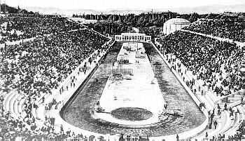 Stade Panathenaic, main site of the games