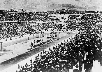 A general view of the Athens Olympic games