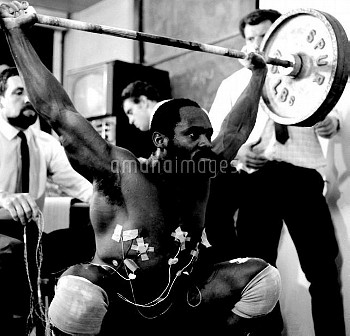Louis Martin M.B.E., has strong views about weightlifting, having accomplished more in gaining recog
