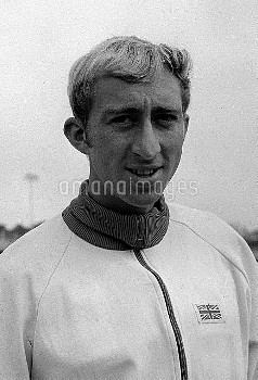 David Hemery, one of Britains brightest prospects for a gold medal at the Olympic Games in Mexico Ci