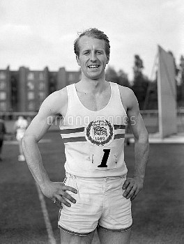 David Jones of Great Britain who went be part of the winning Great British 4x100m relay team that wo