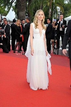 Erin Moriarty attending the Closing Ceremony Red Carpet at the Palais Des Festivals in Cannes, Franc