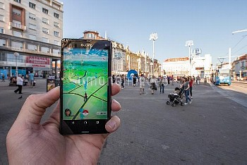 18.07.2016., Zagreb, Croatia - Mobile game Pokemon Go for Android and iOS smartphones that millions