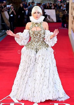 Lady Gaga attending the UK Premiere of A Star is Born held at the Vue West End, Leicester Square, Lo
