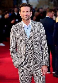 Bradley Cooper attending the UK Premiere of A Star is Born held at the Vue West End, Leicester Squar