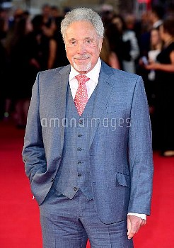 Tom Jones attending the UK Premiere of A Star is Born held at the Vue West End, Leicester Square, Lo