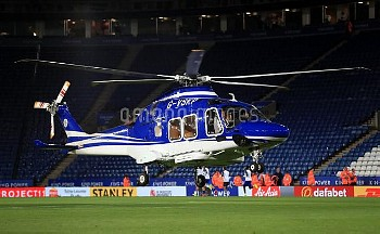 File photo dated 23-09-2017 of A helicopter belonging to Leicester City owner Vichai Srivaddhanaprab