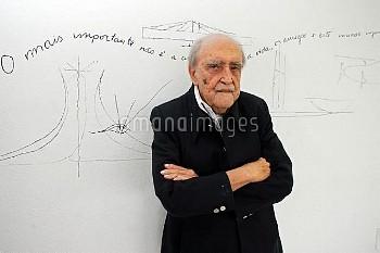 September 29, 2005, Rio De Janeiro, Brazil: Just days before his 100th birthday, Brazilian architect