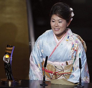 January 9, 2012, Zurich, Switzerland: January 9, 2012 - Zurich, Switzerland: Homare Sawa of Japan sp