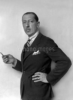 Igor Stravinski (1882-1971), composer from Russian origin.
