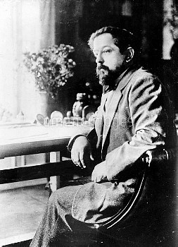 Claude Debussy ( 1862-1918 ), French composer. HRL-601227B