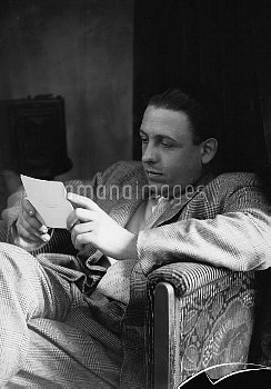 Francis Poulenc (1899-1963), French composer and pianist.