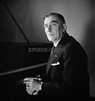 Karol Szymanowski (1882-1937), Polish composer. France, May 1936.