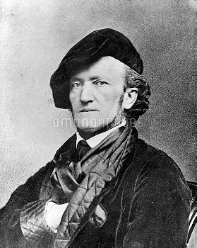 Richard Wagner (1813-1883), composer and German dramatist.