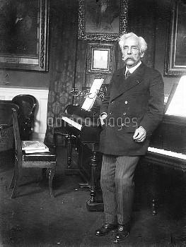 Gabriel Fauré ( 1845-1924 ), French composer. RV-20114