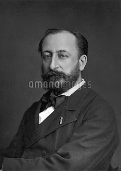 Camille Saint-Saëns (1835-1921), French composer.