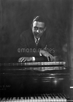 Francis Poulenc (1899-1963), French composer.