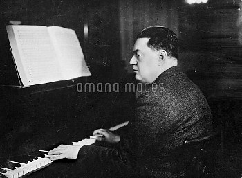 Darius Milhaud (1892-1974), French composer.