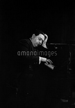 Darius Milhaud (1892-1974), French composer. Paris, circa 1930.