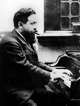 Isaac Albeniz (1860-1909), Spanish composer.
