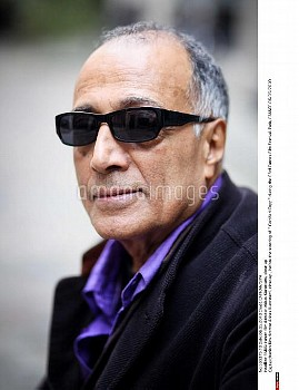 """Iranien film director Abbas Kiarostami, close-up , before the sreening of """" Certified Copy """" during"""