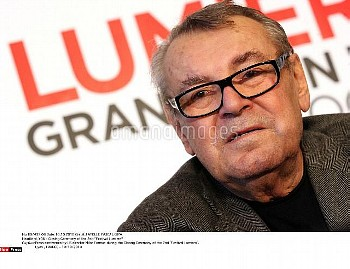 "Press conference by US director Milos Forman during the Closing Ceremony of the 2nd ""Festival Lumier"