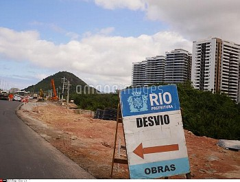 One month before JO, Athlete village Olympic is not finished .30/06/2016 - Rio de Janeiro - Brazil//