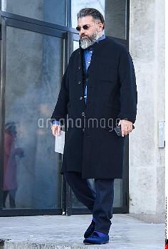 Riccardo Tortato, Y-3 Street Style, Autumn Winter 2017 2018, Street Style during the Paris Menswear,