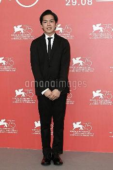 Ryusei Maeda during 'Zan ( Killing )' photocall, 75th Venice International Film Festival, Italy - 07