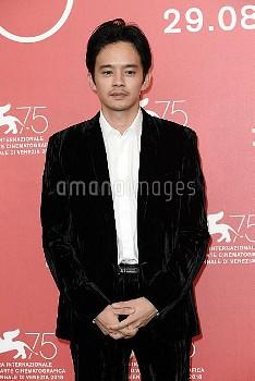 Sosuke Ikematsu during 'Zan ( Killing )' photocall, 75th Venice International Film Festival, Italy -
