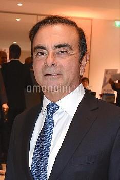 Carlos Ghosn photographie lors de la soiree de Gala du Prix SCOPUS 2018 de l'Universite Hebraique de