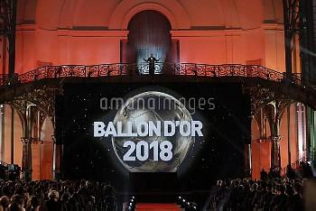 David Ginola Golden Ball (Ballon d'Or) award ceremony at the Grand Palais in Paris, FRANCE-04/12/201