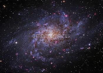 Triangulum Galaxy (M33), optical image