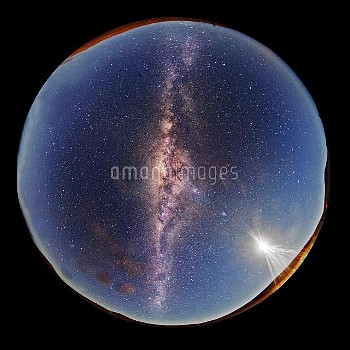 All-sky Milky Way view