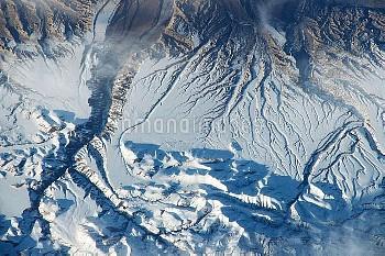Himalayas, ISS image