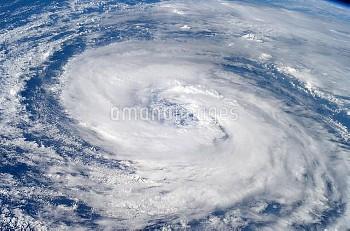 Hurricane Epsilon, ISS image