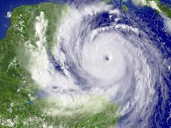 Hurricane Dean, 20 August 2007