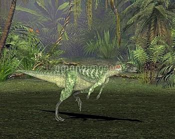 Lesothosaurus dinosaur, illustration