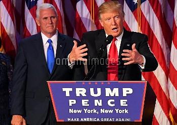 [2016米大統領選] ドナルド・トランプ氏が勝利宣言