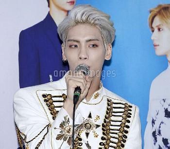 """ジョンヒョン South Korea: """"SHINee WORLD IV in Seoul"""" Press Conference"""