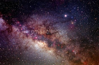 This is one of the richest regions of our own galaxy, the Milky Way. Sweeping star clouds stretch di
