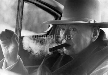 Sir Winston Churchill leaves Hotel de Paris for Aride12th April 1963