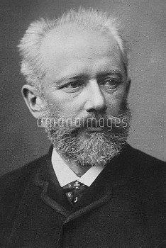 TCHAIKOVSKY  Pyotr Ilyich Tchaikovsky  7 May 1840 – 6 November 1893  Russian composer of the Romanti