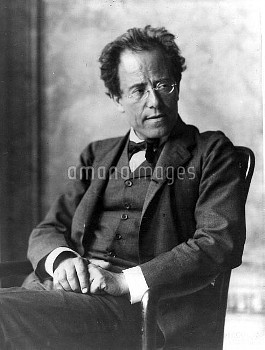 GUSTAV MAHLER Austrian Composer 1860 - 1911 Credit: Boosey and Hawkes Collection / ArenaPAL  ;